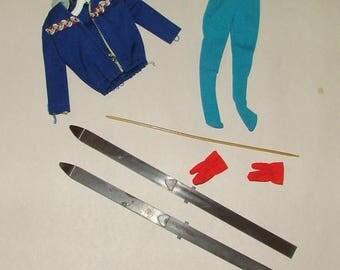 Vintage Barbie Ski Queen Accessories *****1960's*******