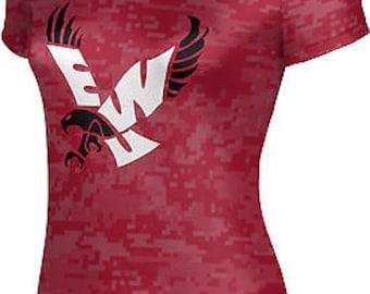 ProSphere Girls' Eastern Washington University Digital Tech Tee (EWU)