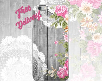 FREE SHIPPING Rustic Phone Case iPhone 7/7+/6/6S/6+/6S+65/SE, Galaxy S8/8+/7/7Edge/6/6Edge/5/Note5/J7Prime, Huawei P8/8PLite2016/P9/P9Lite