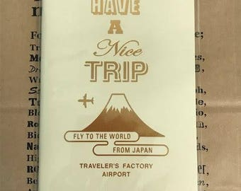 Traveler's Notebook Airport Edition Narita Limited Refill Regular size 64pages 07100-336 Made in Japan Gift Free shipping Best Buy Rare