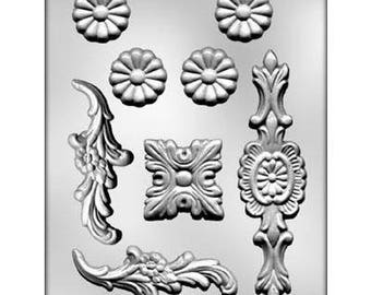 Baroque Designs #2 Chocolate Candy Mold 9471