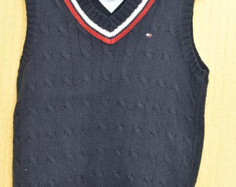 TOMMY HILLFIGER Sweater Vest Boys' Size 7