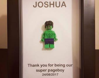 Personalised Superhero Pageboy gift