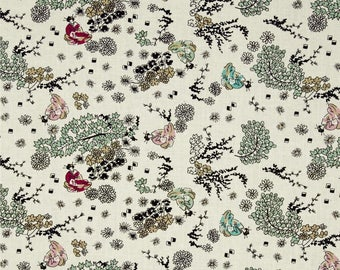 Mary Fons Small Wonders Japanese Garden 100% cotton Fabric By The Yard ( SC135)