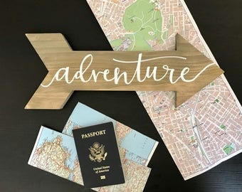 Adventure Wooden Arrow