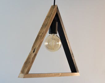 Suspension light ', triangular shape