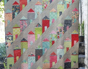 Painted Ladies ECQ 2117 pattern from Eye Candy Quilts