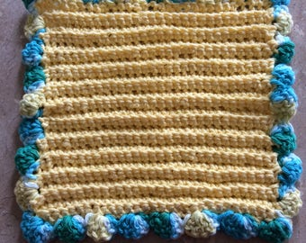 Two-Piece Crochet Dishcloth Set
