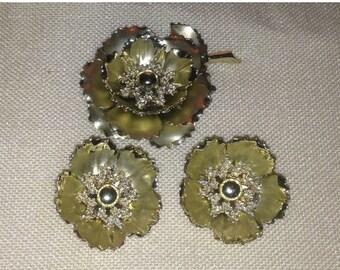 Anniversary Sale Beautiful Coro Pin and Earings