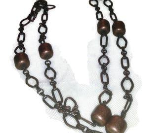Vintage Copper Link Necklace
