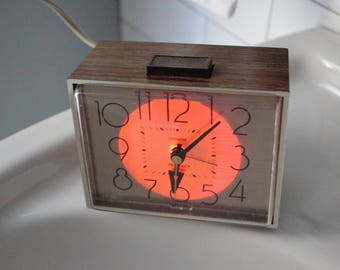 "Vintage alarm clock - Westclox ""drowse"" with backlight"