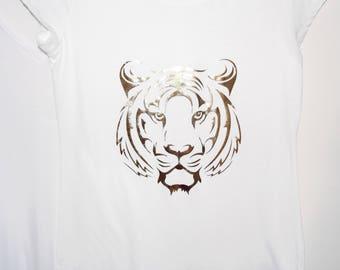 Metallic Tiger T-Shirt