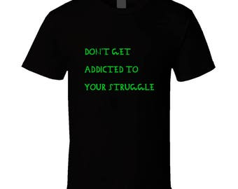 Blk/green Struggle Tee T Shirt