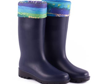 BiggDesignEvil Eye Rain Boots