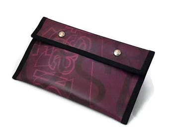 Pencil/cosmetic case plum, Burgundy
