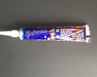 1 Golecha Blue Color Henna Paste Tube Temporary Tattoo Body Art Mehendi Ink
