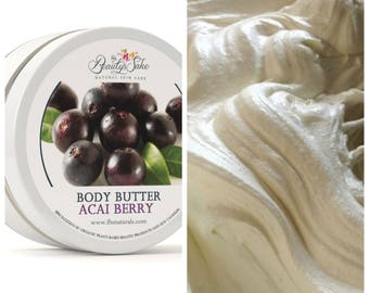 Acai Berry Organic Body Butter - 8 oz