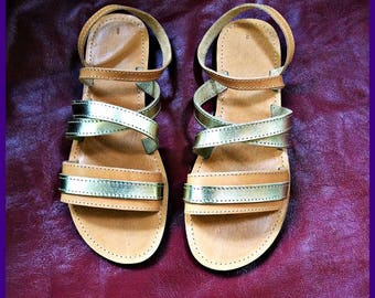 sandals manufactured in Greece