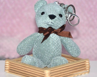 Keychain teddy - Teddy Emerald (blanket, bear, teddy bear, teddy bear, teddy bear)