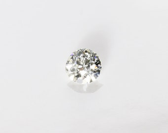 Antique Old European Cut Diamond, I SI2, 0.32 Ct