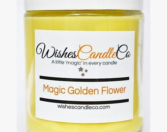 Magic Golden Flower With Free Magical Pin Inside