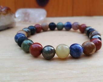 The Elements Intention Bracelet - Earth, Air, Fire, Water, Nature