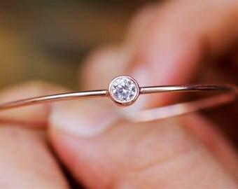 Gold Bangle Bracelet, Bangle Bracelet, Birthstone Bracelet, Personalized Bracelet, Stackable Bracelets, Silver Bangle, Custom Bracelet