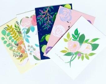 POST CARD (set of 5) ポストカード5種類
