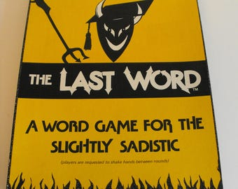 The Last Word Game (1077)