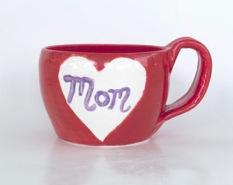 Mother's Day Heart Mug