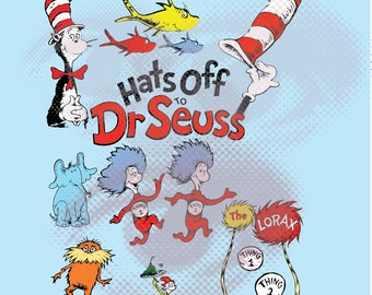 Easy cut and assemble multilayered Dr Seuss inspired theme SVG- cat in the hat SVG - Svg Files for Silhouette Cameo or Cricut