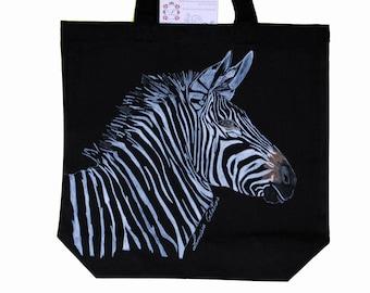 Savannah Zebra love Charlie bag