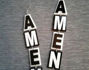 Amen Earrings