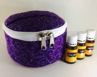 Essential Oils bag- Purple Elegance