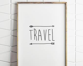 travel gift, travel poster, travel prints, travel poster, travel decor, modern traveller, wall decor, wall art, travel gift, holiday gift