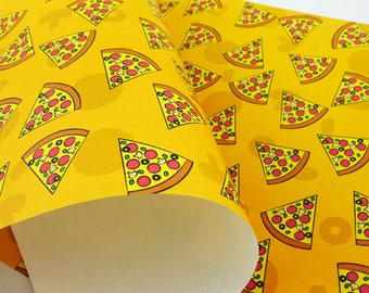 Pizza Eco Wrapping Paper