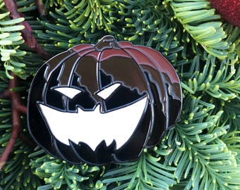 Bat O Lantern   Nightmare Before Christmas Pin Skull Enamel Pin Batman Pin Horror Enamel Pin Punk Enamel Pin Death Enamel Pin Backpack