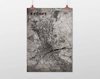Erfurt - A4 / A3 - print - OldSchool
