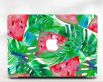 Tropical MacBook Hard Case MacBook Air 13 Case Watermelon Macbook 13 inch Case Macbook Air Laptop Case Macbook Pro 13 Case Macbook 2016 case