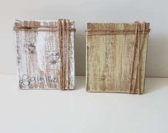 Photo frame, recycled pallet wood