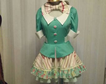 Mad Hatter Dress.                               (from Alice in Wonderland)