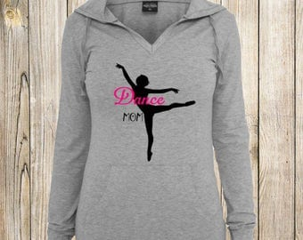 Dance Mom Long Length Hoodie