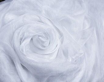 Margelan silk by the yard gauze fabric Nuno felting textile Art Lightweight