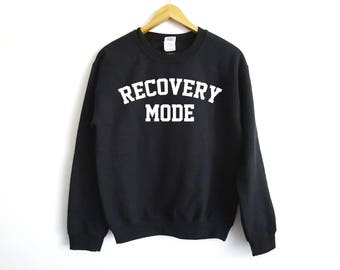 Recovery Mode Sweater - Fitness Sweater - Sore Sweater - Funny Workout Sweater - Trendy Workout Sweater - Tacos Sweater - Fitness Sweater