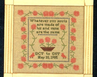 1/2 Price Our Souls by Midsummer Night Designs Counted Cross Stitch Pattern/Chart