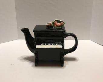 Piano Shaped Tea Pot