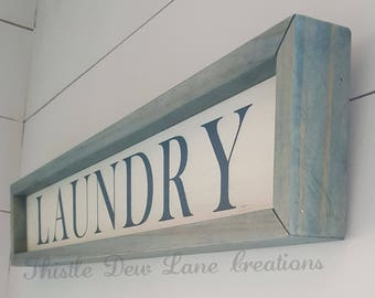 Laundry sign, laundry wooden sign, laundry room sign, laundry room decor