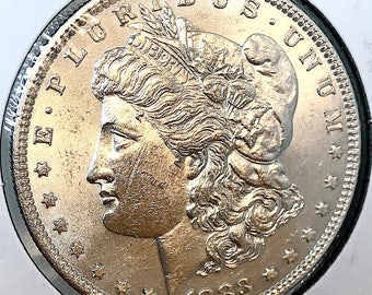 1883 P Morgan Silver Dollar - Gem BU / MS / UNC