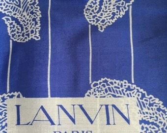Lanvin Scarf vintage