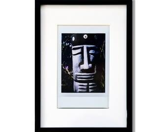 "Fine Art Photography ""Cayuga Playground"" Framed Instax Mini Print"